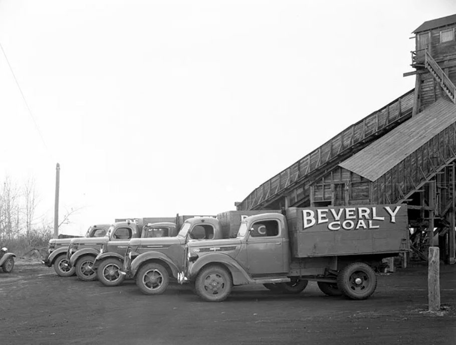 Beverly Coal Trucks
