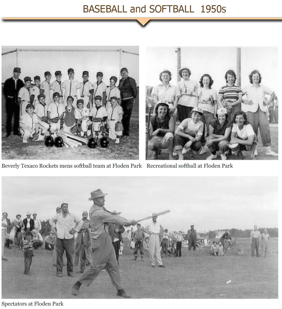 1950s Baseball and Softball 1