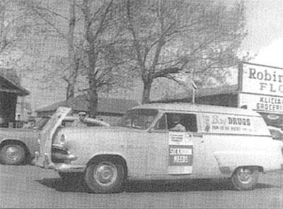 Bay Drugs, May 1957