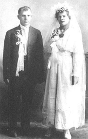 Nimeck Wedding Photo May 26, 1918