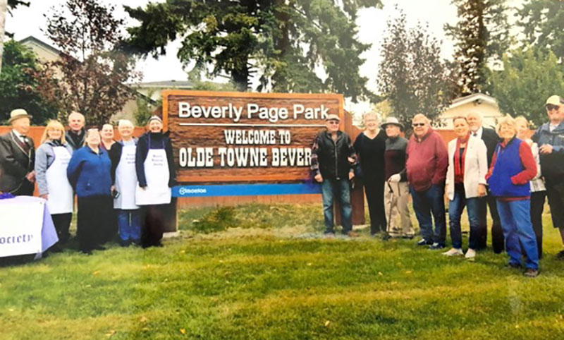 Beverly Page Park Attendees