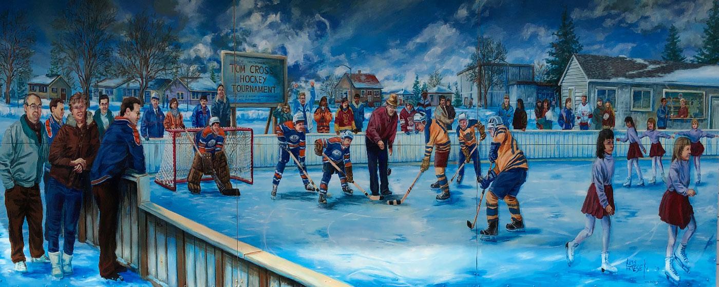 hockey and figure skating