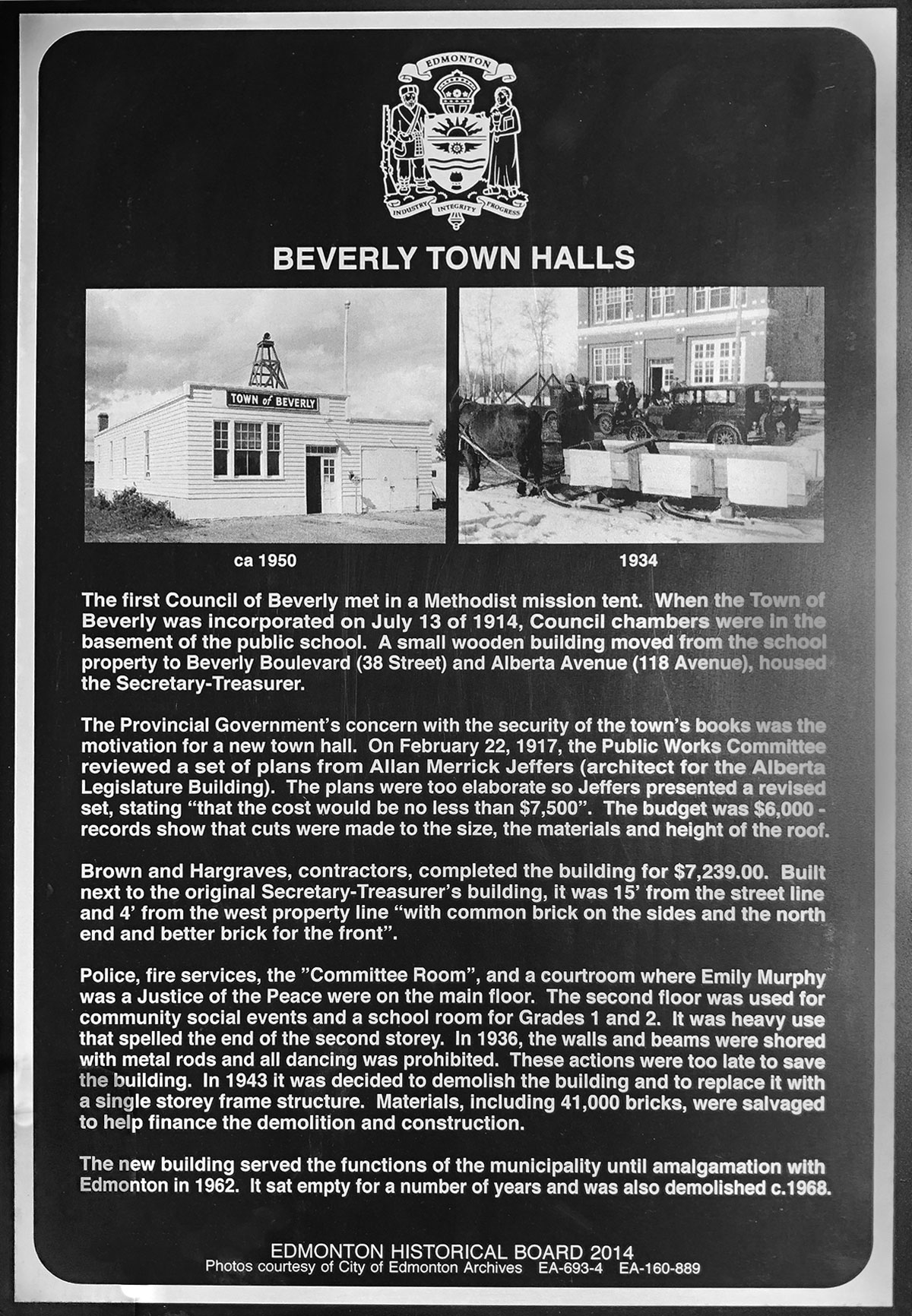 Beverly town halls